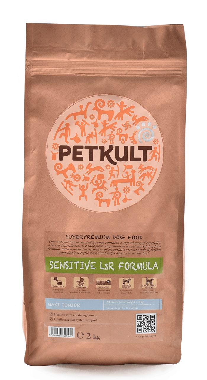 PETKULT dog MAXI JUNIOR lamb/rice - 2kg (náhradní balení)