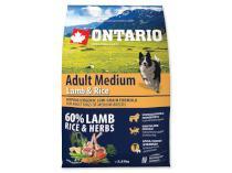 ONTARIO dog  ADULT MEDIUM lamb
