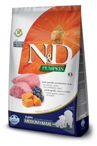 N&D dog GF PUMPKIN PUPPY M/L lamb/blueberry