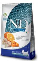 N&D dog GF OCEAN ADULT MINI codfish/orange