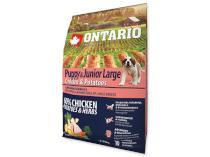 ONTARIO dog JUNIOR LARGE chicken