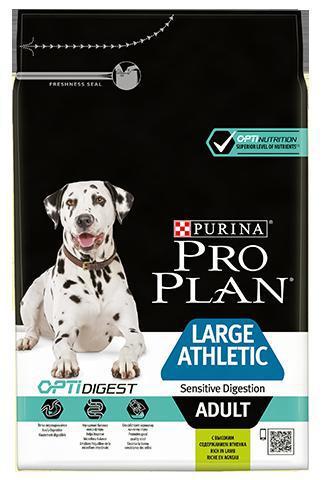 PROPLAN new ADULT LARGE athletic Sensitive Digestion - 14kg