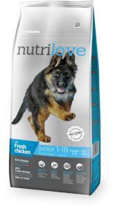 NUTRILOVE pes JUNIOR large