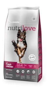 NUTRILOVE pes ADULT  medium