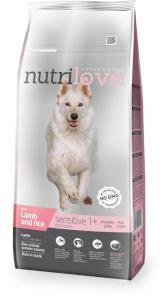 NUTRILOVE pes SENSITIVE jehněčí