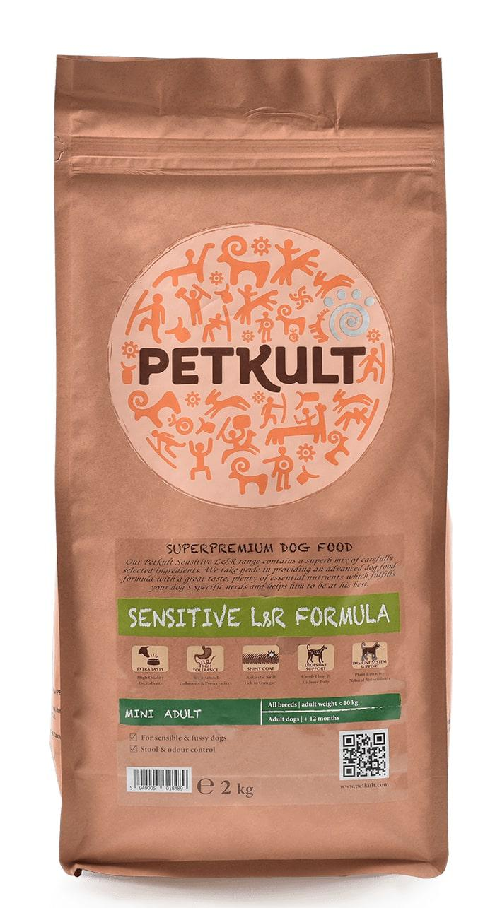 VZOREK - PETKULT dog  MINI ADULT  lambrice - 80g