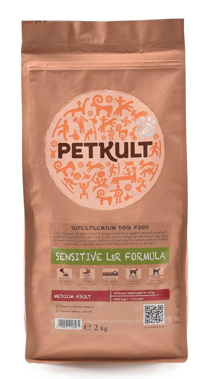 VZOREK - PETKULT dog  MEDIUM ADULT lamb - 80g