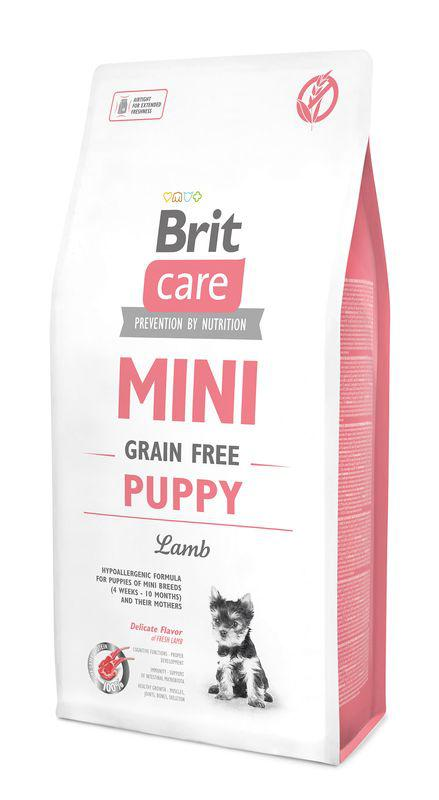 BRIT CARE dog MINI GF PUPPY lamb - 7kg