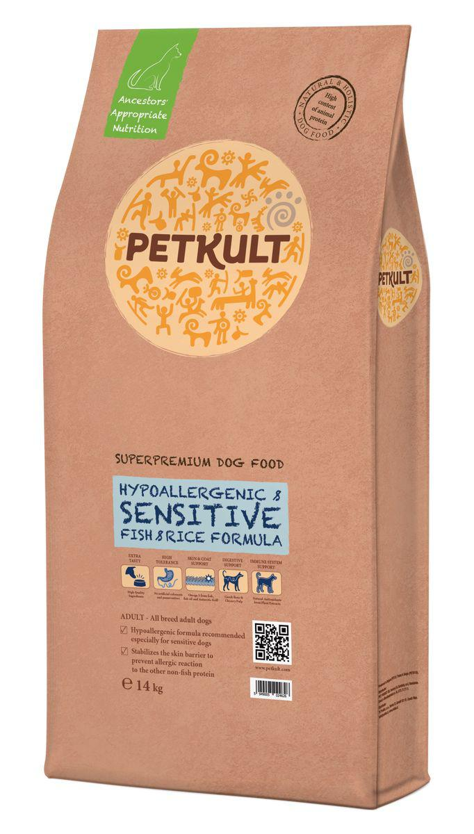 PETKULT dog SENSITIVE FISH - 14kg