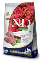 N&D dog GF QUINOA weight management LAMB