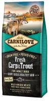 CARNILOVE dog   FRESH  ADULT CARP/trout