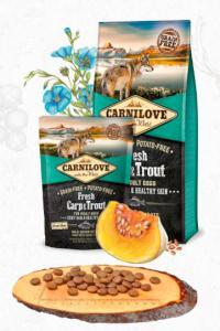 CARNILOVE dog FRESH ADULT CARP/trout