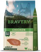 BRAVERY dog ADULT large / medium CHICKEN