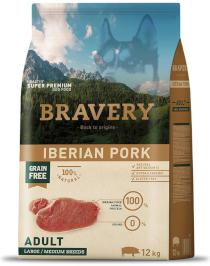 BRAVERY dog ADULT large/medium IBERIAN PORK