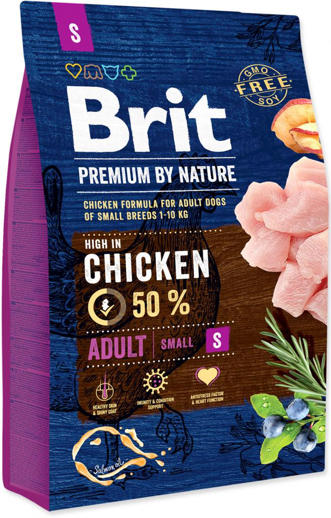 BRIT dog Premium By Nature ADULT S - 8kg
