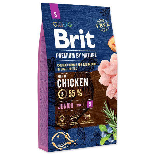 BRIT dog Premium by Nature JUNIOR S - 8kg