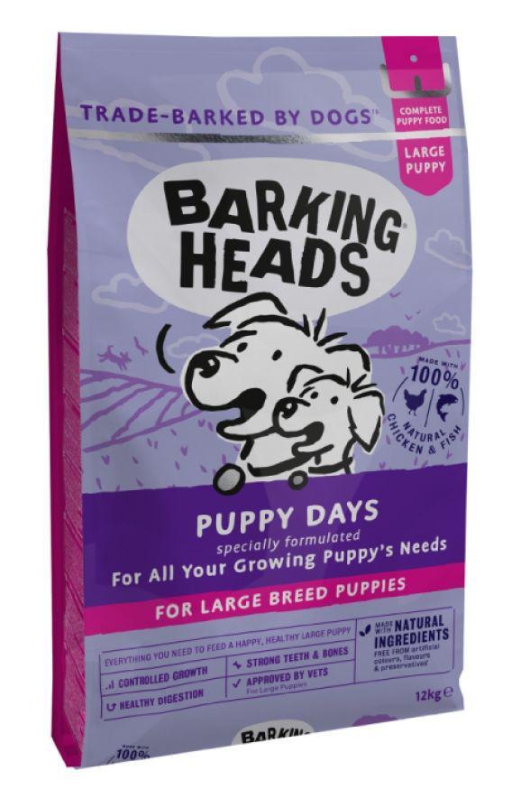 Fotografie Barking Heads PUPPY days LARGE breed - 12kg Barking Heads