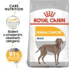 Royal Canin Maxi Dermacomfort - granule pro velké psy s problémy s kůží