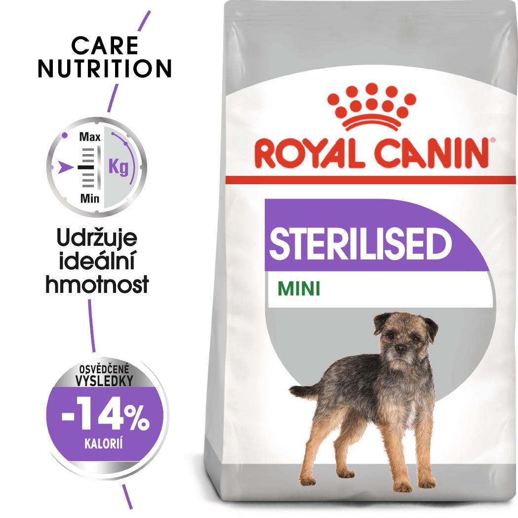 Royal Canin Mini Sterilised - granule pro kastrované malé psy - 1kg