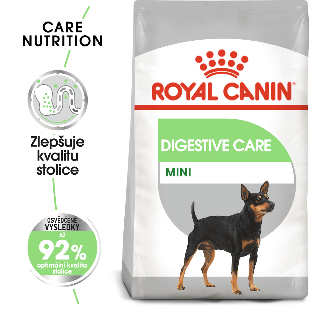 Royal Canin Mini Digestive Care - granule pro malé psy s citlivým trávením - 3kg