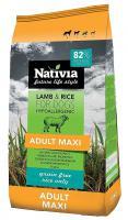 NATIVIA dog ADULT MAXI lamb