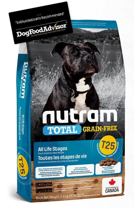 NUTRAM dog T25 - TOTAL GF  SALMONtrout  - 2kg