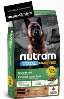 NUTRAM dog T26 - TOTAL GF  LAMB/lentils