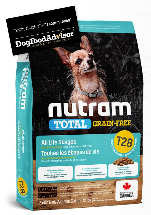 NUTRAM dog T28 - TOTAL GF SMALL salmontrout - 2kg