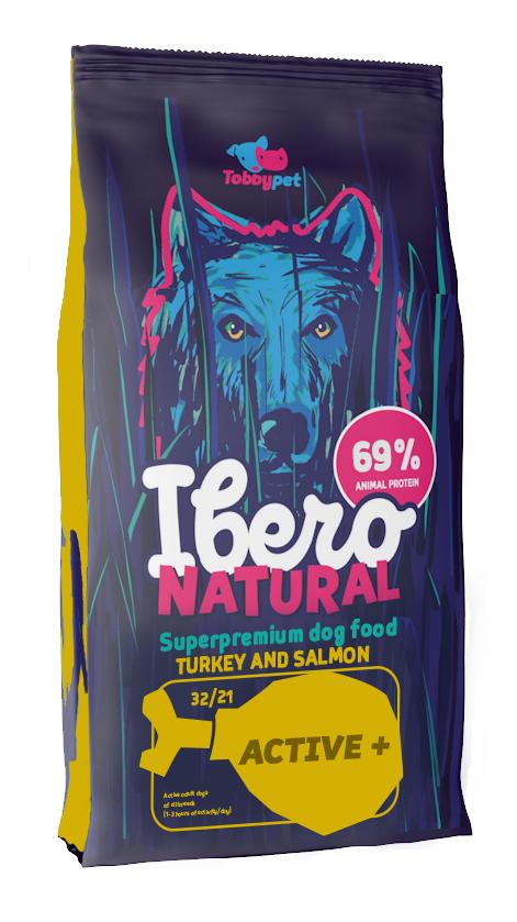 Ibero NATURAL dog ACTIVE plus - 12+3kg