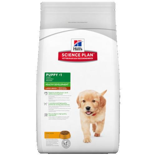 Hills PUPPY LARGE/chicken - 11kg +2,5kg GRATIS
