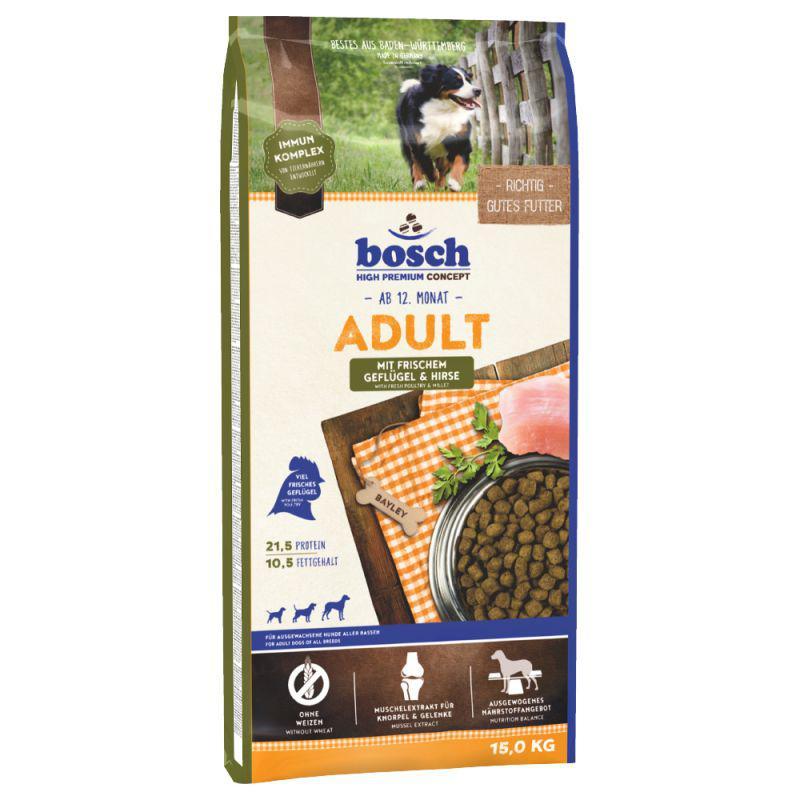 Bosch ADULT geflügel/hirse - 15kg