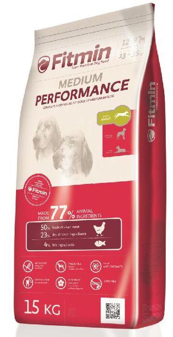 Fitmin MEDIUM PERFORMANCE - 15kg + GRATIS 5x pamlsek ENJOY