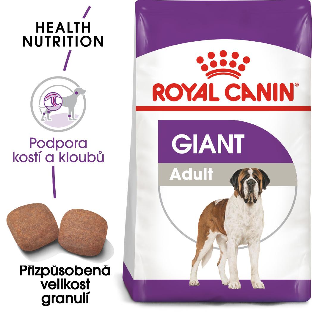 Royal Canin Giant Adult - granule pro dospělé obří psy - 15kg