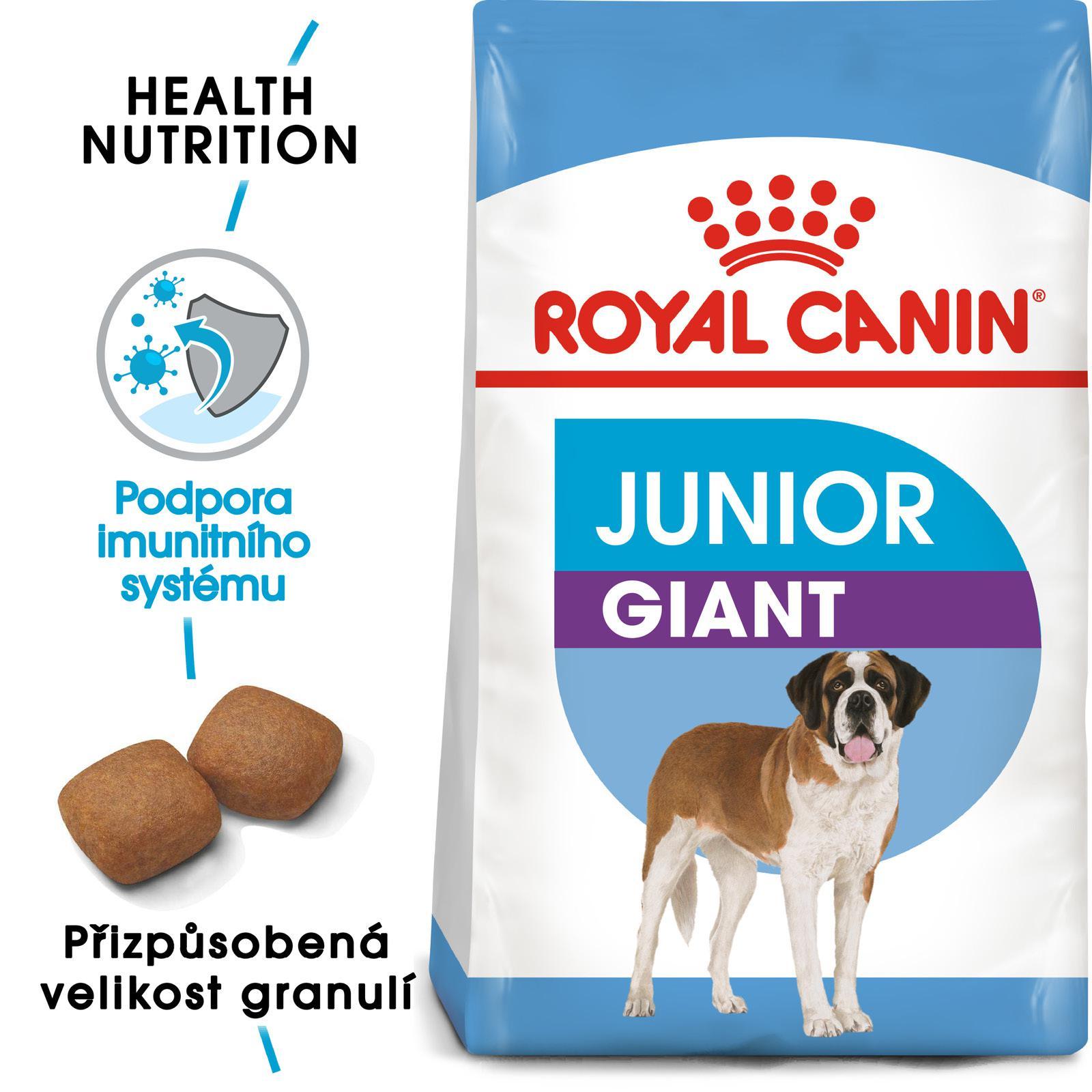 Royal Canin GIANT JUNIOR - granule pro obří štěňata - 15kg