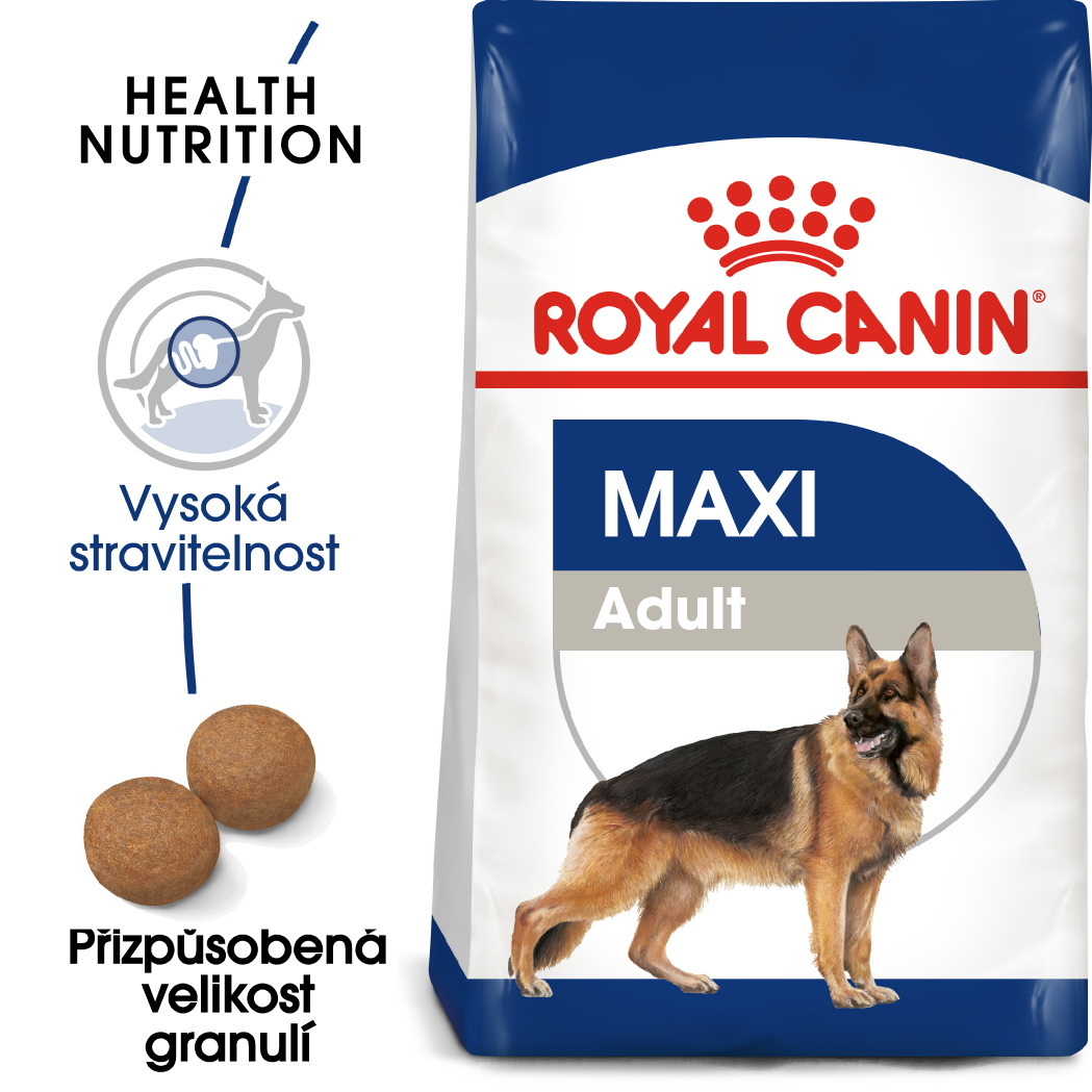 Royal Canin Maxi Adult - granule pro dospělé velké psy - 4kg