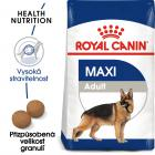 Royal Canin Maxi Adult - granule pro dospělé velké psy