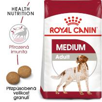 Royal Canin Medium Adult - granule pro dospělé střední psy