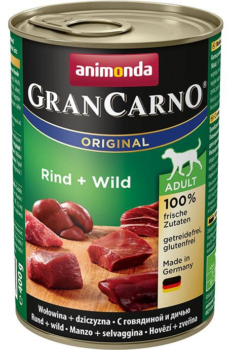 ANIMONDA dog konzerva Gran Carno Plus zvěřina - 800g