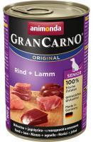 Animonda dog konzerva Gran Carno Senior hovězí/jehněčí