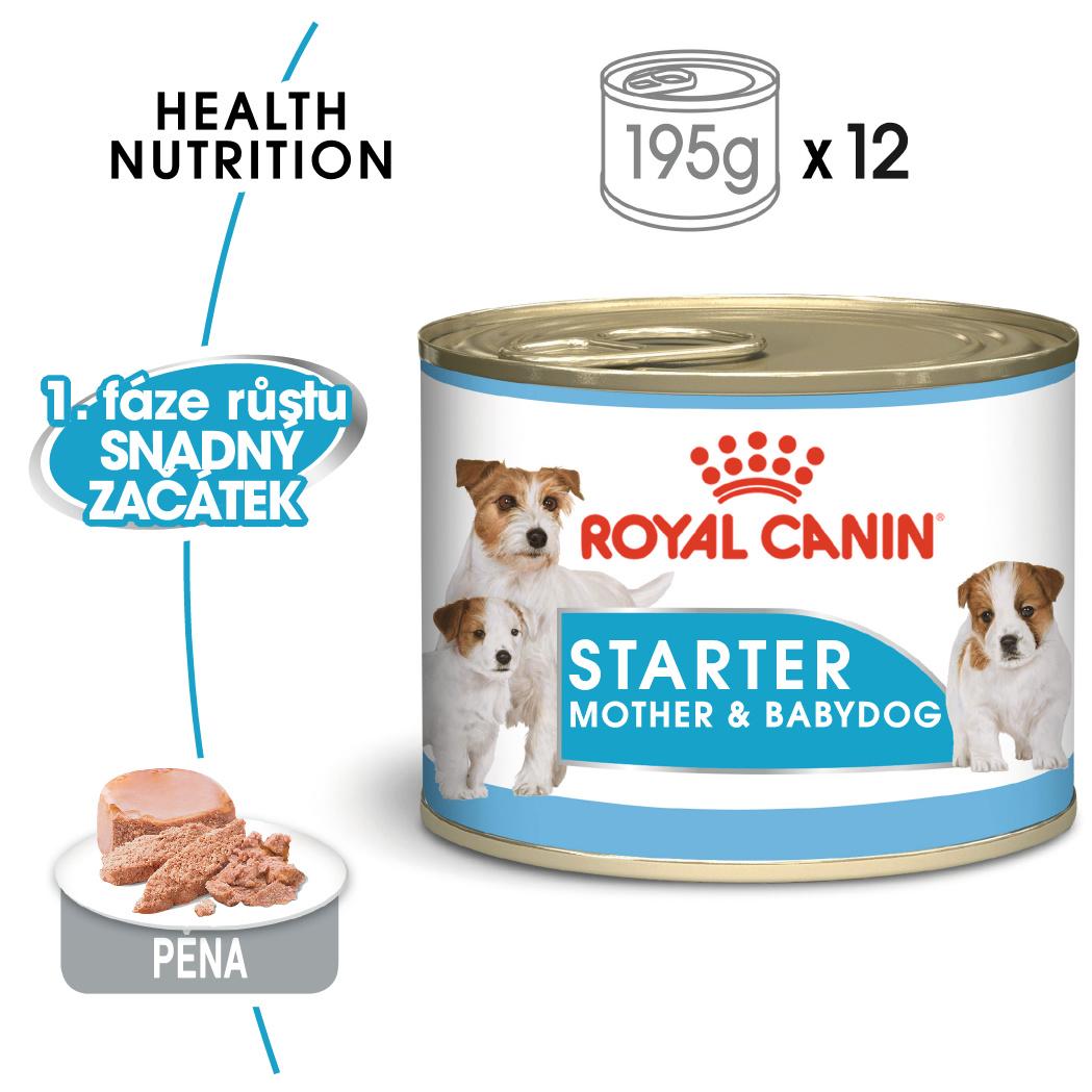 Royal Canin  konz. STARTER MOUSSSE - 195g