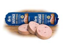 BRIT dog sausage CHICKEN/rice
