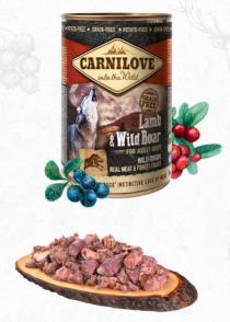 CARNILOVE   konz.  ADULT LAMB/wild boar