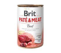 BRIT  konzerva PATE and MEAT 400g