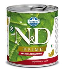 N&D dog PRIME konz. PUPPY chicken/pomegranate
