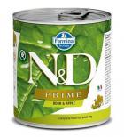 N&D dog PRIME konz. ADULT boar/apple