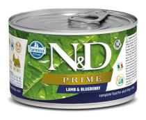 N&D dog PRIME konz. ADULT MINI lamb/blueberry