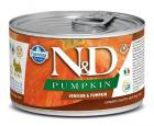 N&D dog GF PUMPKIN konz. ADULT MINI venison