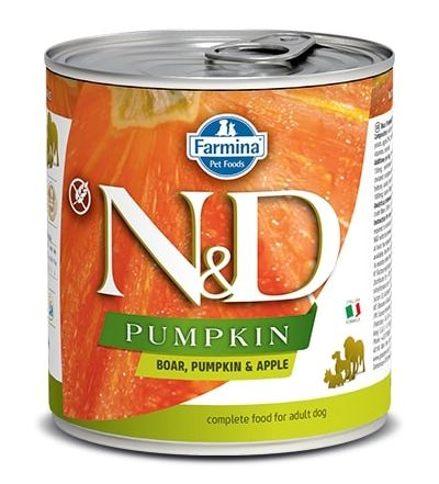 Namp;D dog GF PUMPKIN konz. ADULT boarapple - 285g