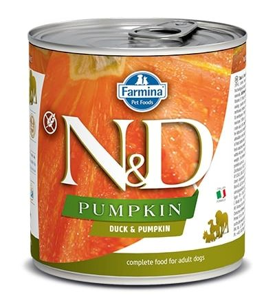 Namp;D dog GF PUMPKIN konz. ADULT duck - 285g