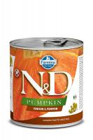 N&D dog GF PUMPKIN konz. ADULT venison/pumpkin